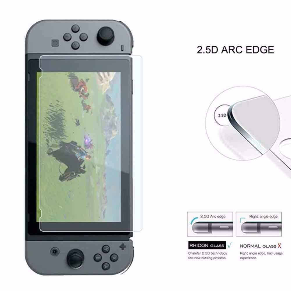 New Arrival Game accessories Tempered Glass Screen Protector Film Guard Shield for Nintendo Switch