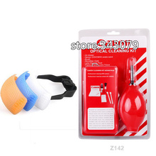 3 Color Pop-Up Flash Diffuser & Camera Cleaner Cleaning Kit 7 in 1  clearing suit for canon Photo Studio Accessories