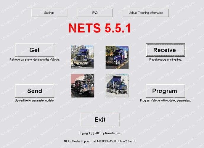 International Navistar NETS 5.5.1<br><br>Aliexpress
