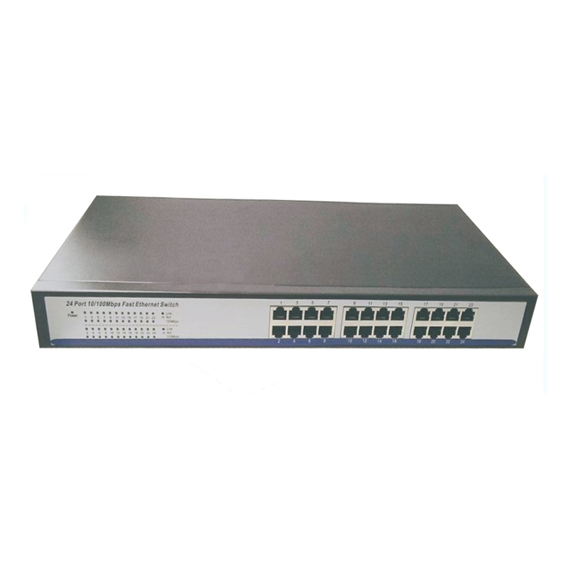 "shenzhen manufacturer direct sell 24 ports 10/100M Network ethernet Switch with 19"" Steel Case network switches 24 port(China (Mainland))"