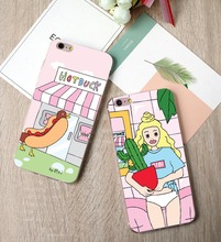 Cute Cartoon Plants Cactus Girls Soft silicone TPU Cover For iphone 5S SE 6 6S 7 7Plus Back Cover Phone Cases Coque Fundas Capa(China)