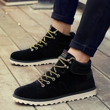 2017  new arrival Fall&Winter Men  sneaker  high cut  simple style  walking shoes Freeshipping