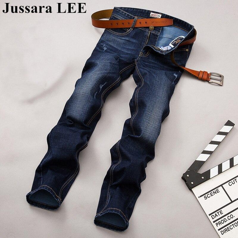 2017 Mens Brand Autumn Winter Jeans Brand New Casual Mens Jeans Slim Men Pant  Fashion Jeans Men Straight  hombre pantalonesОдежда и ак�е��уары<br><br><br>Aliexpress
