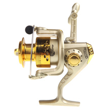 6BB Ball Bearings Spinning Fishing Reels Left/Right Interchangeable Collapsible Handle Fishing Spinning Reel SG3000 5.1:1(China)