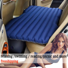 universal Car Inflatable Bed Outdoor travel car air mattress Bed Auto Supplies Car Travel Bed for sexy love wswimming reading