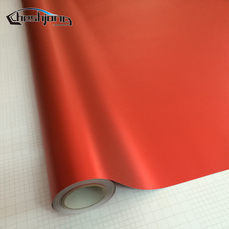 Metallic-Red-Matte-Chrome-Vinyl-7
