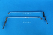 New Original One Pair of Laptop Hinge L+R Parts for Lenovo Ideapad Z570 Z575 LCD Hinges Right + Left Set