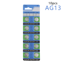 centechia Hot Sale 10 Pcs AG13 LR44 357A S76E G13 Button Coin Cell Battery Batteries 1.55V Alkaline