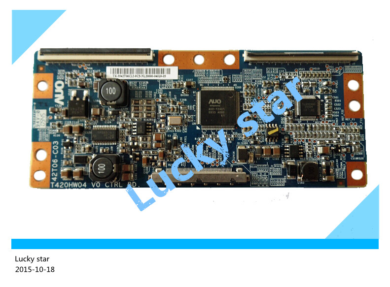 100% tested good working High-quality for original 98% new T420HW04 V0 42T06-C03 AUO logic board 2pcs/lot<br><br>Aliexpress