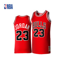 Original NBA Jerseys M&N Chicago Bulls Michael Jordan Competition Season 1985-86 AU Number 23 Jerseys Men's Breathable Jerseys(China)