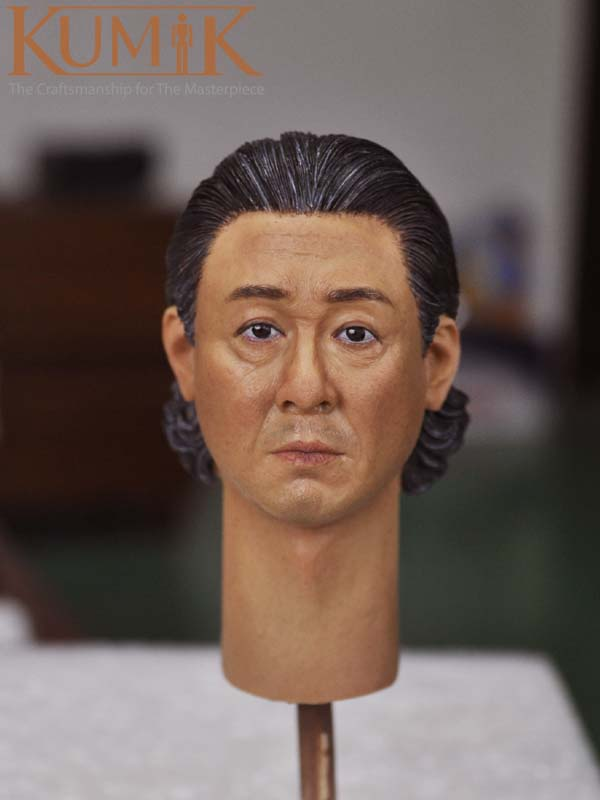 KUMIK 16-17 Asian Middle-aged Male Head Carving 1/6 Doll Custom Head Sculpt 12 Figure Collection Toys <br><br>Aliexpress