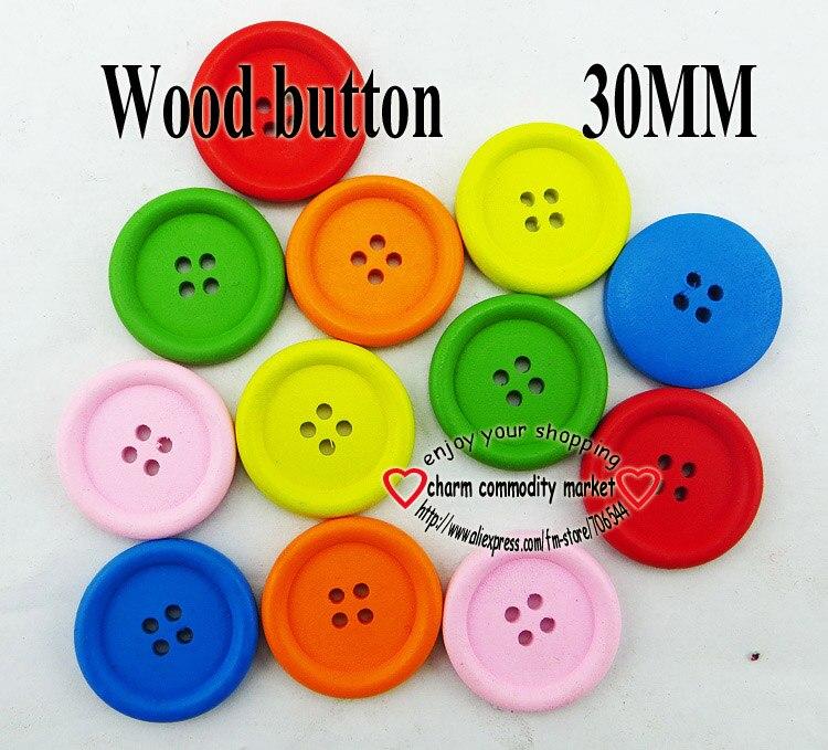 23mm 36L Rosa Chicle Grueso 4 agujero Abrigo Craft Pulido botones de botón Q537