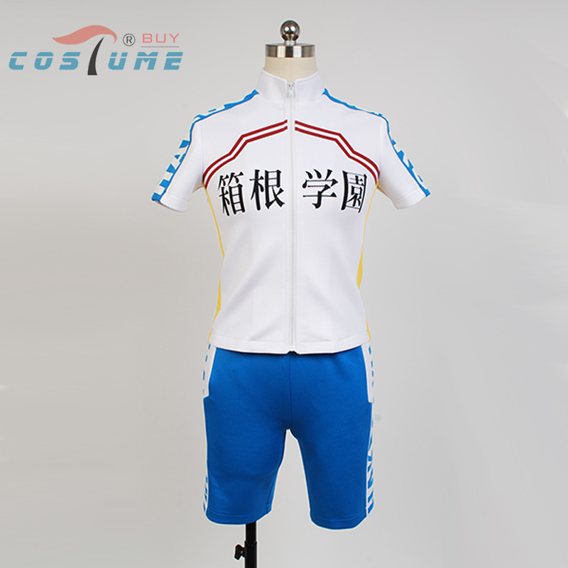 Anime Yowamushi Pedal Hakone Cosplay Costume Bike Sporting Racing Suits Cosplay Costume Short Sleeve Shirt Cycling Clothing