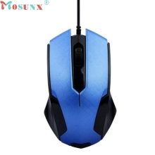 Mosunx 1200DPI 3D Optical USB 1.5M Line Wired Gaming Mouse Home/Office Use Working Game Mice For Windows Mac OS PC Top Quality