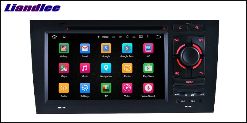 Liandlee Car Multimedia Player NAVI For Audi A6 C5 4B 1997~2004 Car Touch Screen System Radio TV DVD Stereo GPS Navigation 12