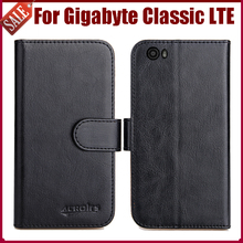Hot Sale! New Arrival 6 Colors High Quality Flip Fashion Leather Case for Gigabyte GSmart Classic LTE Cover Phone Bag