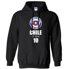 Chile Team Country Men's Hooded Sweat Polo Hoody New Hip Hop Streetwear Footballers Jerseys Jerseys Chilean Cylon Flag CL(China)