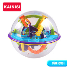 17CM 158 Steps 3D Puzzle Ball Magic Intellect Ball educational toys Puzzle Balance IQ Logic Ability Game For Children adults(China)