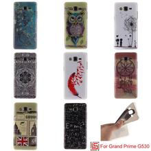 Best Art Ultra Thin TPU Silicone Soft Phone Cell Mobile Case carcasa Cover For Samsung Samsug Samsu Sansung Galaxy Grand Prime(China)