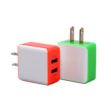 DC 5V 2.1A 1.5A Output Dual USB Ports US Plug Mobile Phone Charger Power Adapter Used for iPhone iPad Mobile Phones Tablet PC(China)