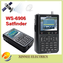 "Satlink WS6906 Satellite Signal Finder 3.5"" DVB-S FTA digital satellite meter satellite finder satlink ws-6906 finder"