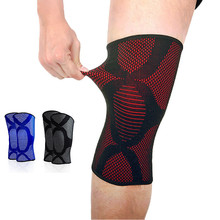 1Pc Knee Support Brace Leg Arthritis Injury Gym Sleeve Elasticated Bandage Elbow & Knee Pads Wrap Protect Brace P15