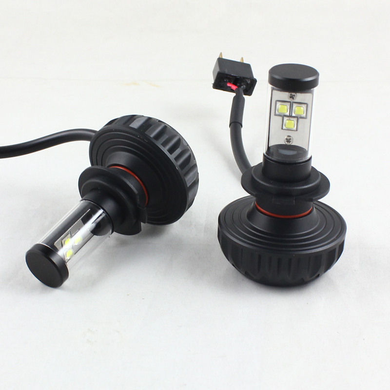 4sets led headlight H7 LED H8/H9/H11 HB3/9005 HB4/9006 9007 H4 h13 p13w 5202 auto bulb front bulb 60W 8000lm automobile headlamp<br><br>Aliexpress