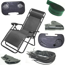 Zero gravity outdoor portable foldable reclining lounge camping beach chair Part(China)