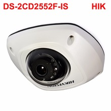 5MP IR dome WDR 120dB DS-2CD2552F-IS 3DNR POE cctv ip camera for NVR supported iVMS-4500,USA firmware IPC(China)