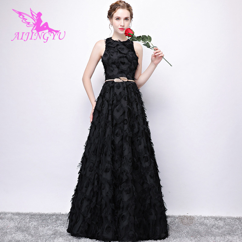 AIJINGYU Evening Dress Party Gown 2018 Elegant Formal Special Occasion Bride Dresses Fashion Sexy Gowns FS362