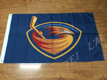 Atlanta Thrashers team flag FLAG American flag 100D Polyester Free Shipping(China)