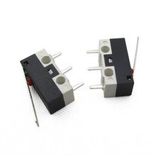 10PCS Tact Micro Mouse Switch mini Tripod Daibing Rectangular Micro Switch