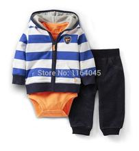 LSL3-011,New Collect, 3-Piece Clothing Sets,Baby Boys and Girls Cute Suit for Spring And Autumn,Original,Free Shipping