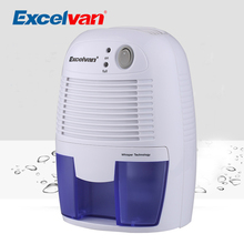 Excelvan NEW XRow-600A Mini Dehumidifier Desiccant Moisture Absorbing Air Dryer Thermo-electric Cooling for Home Kitchen Bedroom(China)