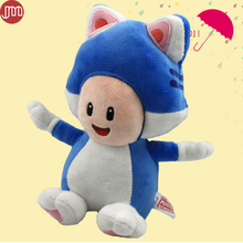 OHMETOY Super Mario 3D World Blue Cat Toad Plush Soft Toy Stuffed Animal Doll Pupazzo Gatto Neko Approx 20cm/8""