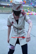 Hallowmas Christmas Game Anime  Silent Hill NURSE Dress Party Fashion Uniform Suit Cosplay Costume S-XL Free Shipping