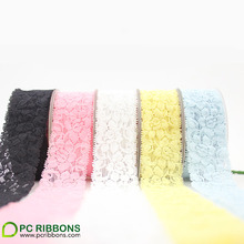 Free shipping 30 yards 1.5'' width elastic lace,garment accessories lace trim,DIY embroidery lace wholesale wedding decoration