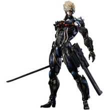 Square Enix Metal Gear Rising: Revengeance Play Arts Kai Raiden Action Figure No Box PAK001013