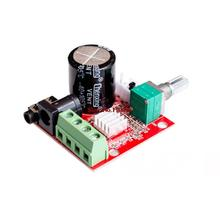 ! Hot Sale 12V Mini Hi-Fi PAM8610 Audio Stereo Amplifier Board 2X10W Dual Channel D Class Lowest Price