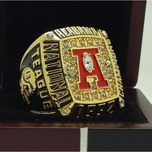 1992 Alabama Crimson Tide SEC Football National Championship ring replica size 11 US solid back