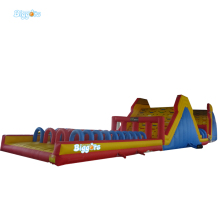 Free Shipping All In 1 Giant Inflatable Bouncy Castle Slide Climbing Game Combo Obstacle Course