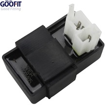 GOOFIT Performance 6-pin CDI Box for CG 125cc 150cc 200cc 250cc ATV Dirt Bike Go Kart SCOOTER  H048-001