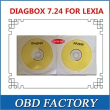 VDTCSCDP with diagbox 7.24 v7.24 software on cd for lexia pp2000 lexia 3