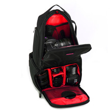 New camera messenger bag waterproof anti-shock SLR camera/Lens digital shoulder bag With Rain Cover For Nikon Canon Sony