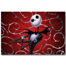 The Nightmare Before Christmas Art Silk Poster Print 13x20 24x36 inch Cartoon Movie Picture for Room Wall Decor Jack Sally 016