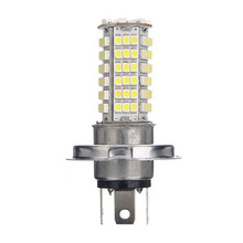 10x)  2PCS Lighthouse Lamp Bulb AUTO H4 102 LED 3528 SMD Hyper Light DC 12V White