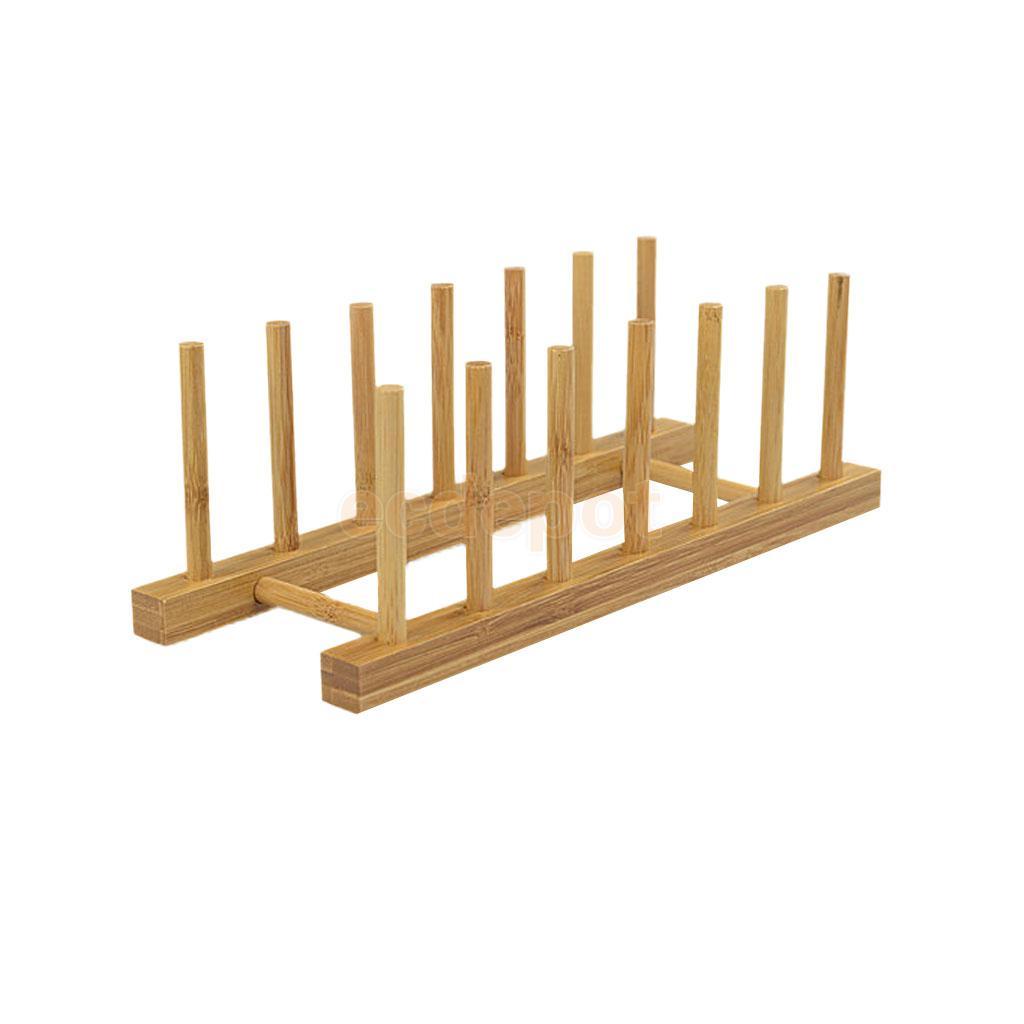 bamboo kitchen holder dish drying rack home rack largechina
