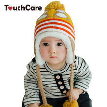 Newborn Winter Cute Cartoon Penguin Baby Boy Girl Hats Warm Knitted Infant Beanie Kids Photography Props Accessories Casual Caps