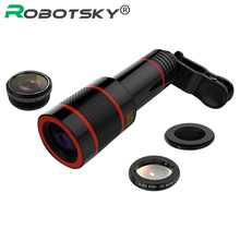 Optical 8x Zoom Phone Telescope Portable Mobile Phone Telephoto Camera Lens and Clip for iPhone Samsung HTC Huawei LG Sony Etc(China)