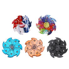 Buy 2017 New Style Tri-Spinner Fidget Toy EDC HandSpinner Anti Stress Reliever ADAD Hand Spinners Anti Stress Toys for $1.68 in AliExpress store